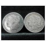 1883-S:1921-S MORGAN SILVER DOLLARS 2 X BID