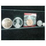 U.S. METALS & SILVER COINS