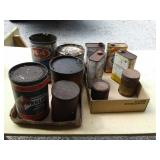 ADVERTISING METAL CANS, CLEANERS & OILS