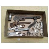 EARLY TOOLS, WRENCHES