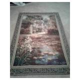 """54"""" x 80"""" MOHAWK WALL HANGING TAPESTRY BY VAIL"""