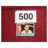 GIL McDOUGALD BALL CARD