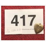 1/20 12K GOLD FILLED HEART
