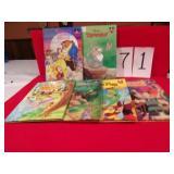 6 DISNEY CHILDRENS BOOKS