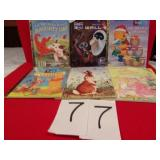 5 GOLDEN BOOKS, VG CONDITION