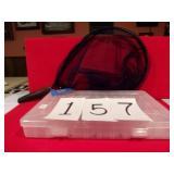 NEW DIP NET/RANGER PLASTIC LURE BOX