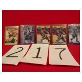 5) HOCKEY CARDS