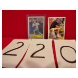 FOOTBALL CARD/VINTAGE 1982 /ROOKIE FAVRE