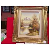 NICE OIL PAINTING W/FRAME