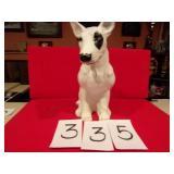 "HEAVY 12"" CERAMIC DOG LOOKS LIKE SPUDS"
