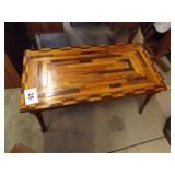 UNUSUAL WOOD COFFEE TABLE