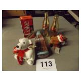6 PC COCA COLA ITEMS