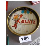 BLATZ BEER METAL TRAY