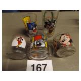 5 PC MICKEY/MINNIE & SYLVESTER/TWEETY