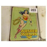WONDER WOMAN METAL SIGN