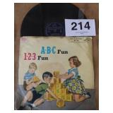 ABC FUN 123 FUN RECORD