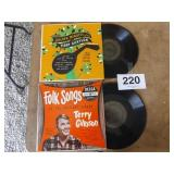 2 TERRY GILKYSON RECORDS