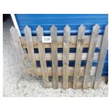 FENCE FOR DECORATION