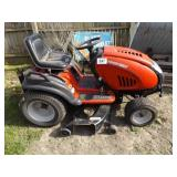 "TROY BILT 46"" CUT RIDING LAWN MOWER"