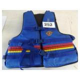 BLUE STEARNS LIFE JACKET ADULT L-XL