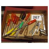 WRENCHES, SCREWDRIVERS, ETC