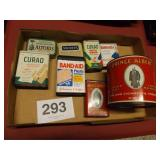 OLD ADVERTISING TINS