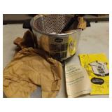 SUNBEAM DEEP FRYER & COOKER, NEVER USED