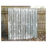 WHITE WASHED FENCE 6