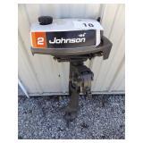 JOHNSON SEAHORSE 2 HP OUTBOARD MOTOR
