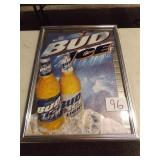 BUD ICE MIRROR