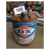 DX PRODUCTS SUNRAY DX OIL CAN