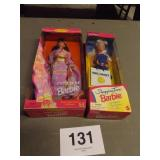 2 BARBIE DOLLS, NIB