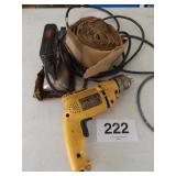 CARPET GLUE IRON & DEWALT D21008 3/8 VSR DRILL