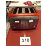 KENMORE RED 4 SLICE TOASTER