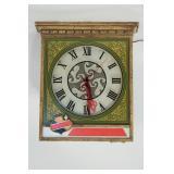 Vintage Falstaff Beer Clock