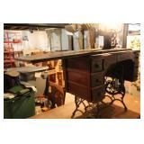 Vintage Brunswick Sewing Machine