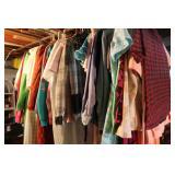Large Lot of Vintage Ladies Clothes