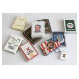 9 Vintage Boxes Playing Cards