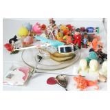 Group of Little Plastic Mini Items