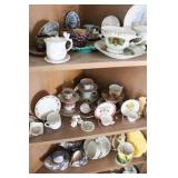 Very Large Group of Cup and Saucers