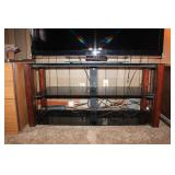 Black Lacquer TV Stand