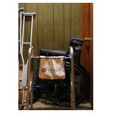 Wheel Chair, Walker, Crutches