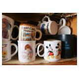 Group of Coffee Morning Mugs