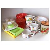 Group of Kitchen Items