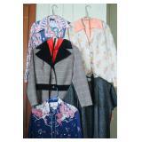 Large Group of Vintage Ladies Clothes