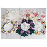 Group of Vintage Doilies