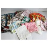Group of Bedspreads and Linens