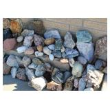 Group of Cute Rocks and Stones