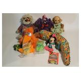 Vintage Monkey Teletubbies, Toys, Minnie and More