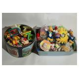 Tub and Tin of Little Toys